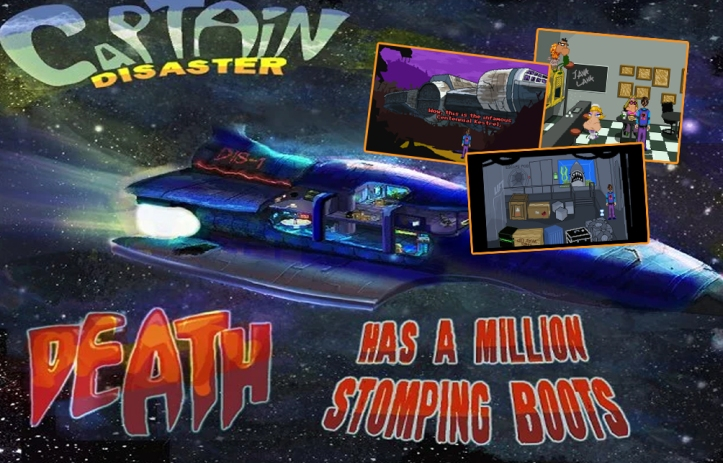 SCAB Super Comedy Adventure Bargain Bundle Review - Captain Disaster In Death Has A Million Stomping Boots