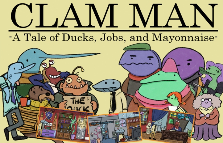 SCAB Super Comedy Adventure Bargain Bundle Review - Clam Man