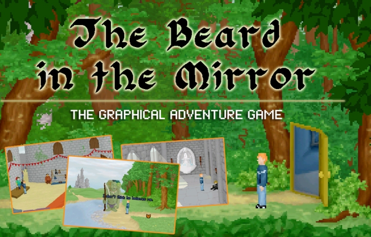 SCAB Super Comedy Adventure Bargain Bundle Review - The Beard In The Mirror